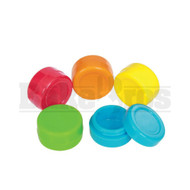 "CONCENTRATE SILICONE JAR NON-STICK 1"" ASSORTED COLOR 1"" DIAMETER"