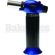 LIQUID BUTANE LIGHTER TORCH ADJUSTABLE FLAME HEAVY DUTY BLUE Pack of 1 7""