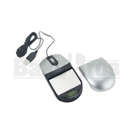 PROSCALE AND ELECTRONIC DIGITAL SCALE SAFE MOUSE DESIGN 0.01g 100g SILVER