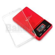 WEIGHMAX DIGITAL POCKET SCALE NJ SERIES 0.1g 650g RED