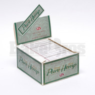 PURE HEMP ROLLING PAPERS KING SIZE 33 LEAVES UNFLAVORED Pack of 50