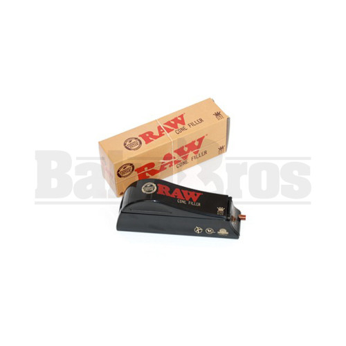 RAW CONE FILLER SHOOTER BLACK Pack of 1 KING SIZE