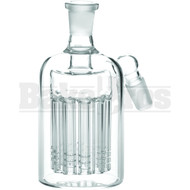 ASHCATCHER 11 ARM TREE PERC 45* ANGLED JOINT CLEAR MALE 14MM