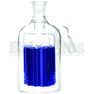 ASHCATCHER 11 ARM TREE PERC 45* ANGLED JOINT BLUE MALE 14MM