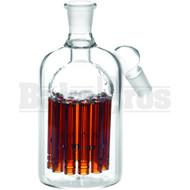 ASHCATCHER 11 ARM TREE PERC 45* ANGLED JOINT AMBER MALE 14MM