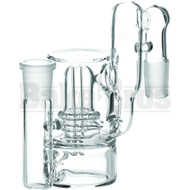 Maverick Ashcatcher Atomic Perc Recycler L Config 90* Joint Clear Male 18mm