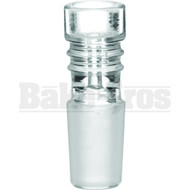 BOWL ART DECO COLUMN CLEAR 18MM