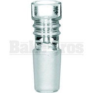 BOWL ART DECO COLUMN CLEAR 14MM