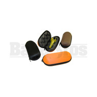 """PIPE CASE HARD SHELL POUCH ASSORTED COLORS 4"""""""