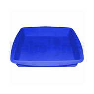 "FOGG SILICONE WAX TRAY BLUE Pack of 1 8""L X 8""W X1""H"