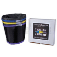 BOLDTBAGS PLANT ESSENCE EXTRACTOR FULL MELT 3 BAGS ASSORTED 220/73/25 1 GALLON