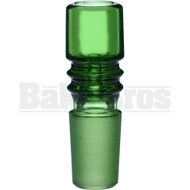 BOWL ART DECO COLUMN GREEN 18MM