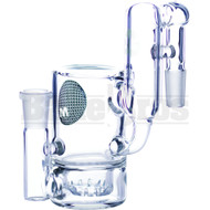 Maverick Ashcatcher Brilliance Perc Recycler 90* Joint L Config Clear Male 14mm