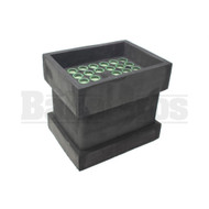 JWARE EASY FILLING SYSTEMS KNOX BLOCK BLACK GREEN Pack of 1 KING SIZE