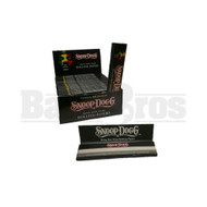 SNOOP DOGG KING SIZE SLIM ROLLING PAPERS 33 LEAVES UNFLAVORED Pack of 25