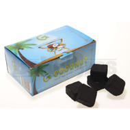 GURU COCONUT 100% COCONUT SHELL HOOKAH CHARCOAL NATURAL Pack of 45