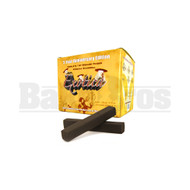 EXOTICA 8.0 WORLD'S 1ST SQUARE FINGER CHARCOAL NATURAL Pack of 75