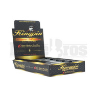 KINGPIN CIGAR ROLLER 120MM UNFLAVORED Pack of 6