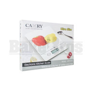 CAMRY ULTRA SLIM ELECTRONIC KITCHEN SCALE 0.1g 500g SILVER