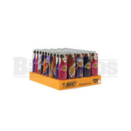 "BIC LIGHTER 3"" PRO SERIES NBA LOS ANGELES LAKERS Pack of 50"
