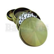 "SHARPSTONE HARD TOP GRINDER 4 PIECE 2.5"" MOSS GREEN Pack of 1"