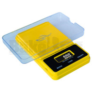 WEIGHMAX DIGITAL POCKET SCALE NJ SERIES 0.1g 650g YELLOW