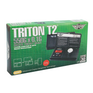 MY WEIGH ELECTRONIC SCALE TRITON T2 SERIES 0.1g 550g BLACK