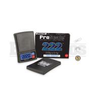 PROSCALE THE DEUCE 222 CAPACITY PRECISION POCKET SCALE 0.1g 222g BLACK