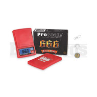 PROSCALE SATAN SCALE 666 CAPACITY PRECISION POCKET SCALE 0.1g 666g RED