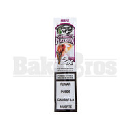 DOUBLE!! PLATINUM CIGAR WRAPS 2 PER PACK PURLE Pack of 1