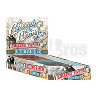 CHEECH & CHONG ROLLING PAPERS UNBLEACHED 1 1/4 UNFLAVORED Pack of 25