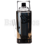 "TONY DABTANA WP SPRAY CAN W/ INLINE PERC 6"" BLACK GOLD MALE 10MM"