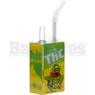 "HITMAN GLASS X LIQUID GLASS WP JUICE BOX 8"" THC OIL MONSTER MALE 14MM"