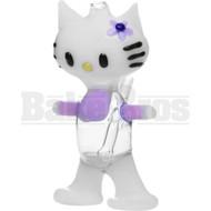 """BLUE LABEL WP KITTY CAT KITTEN CARTOON #3 5"""" PURPLE MALE 10MM"""