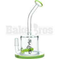 "HIGH TECH WP INLINE 8"" SLIME GREEN FEMALE 14MM"