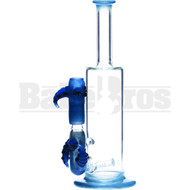 "KROWN KUSH WP INLINE PERC OCTOPUS DESIGN 12"" BLUE MALE 18MM"