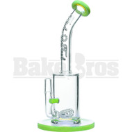 "HIGH TECH WP HORIZONTAL GRID 9"" SLIME GREEN MALE 14MM"