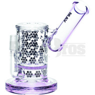 "Maverick Wp Honeycomb Perc Sidecar Mouth 7"" Pink Male 14mm"