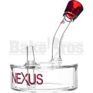 """NEXUS WP RIG HOCKEY PUCK LARGE DIAM 4.5"""" RED ELVIS MALE 14MM"""
