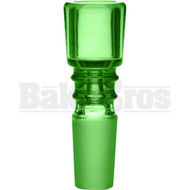BOWL ART DECO COLUMN GREEN 14MM