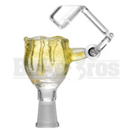 KROWN KUSH FEMALE HONEYBUCKET DRIP GLASS LEMON DROP 10MM