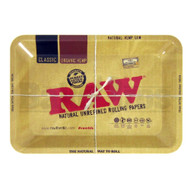 "RAW ROLLING TRAY METAL TAN Pack of 1 7"" X 5"""