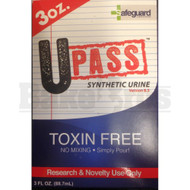 UPASS BY SAFEGUARD LABORATORIES TOXIN FREE 3 FL OZ UNISEX SYNTHETIC URINE
