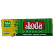ALEDA ROLLING PAPERS TRANSPARENT KING SIZE 40 LEAVES UNFLAVORED Pack of 40