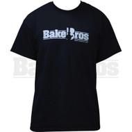 BAKEBROS T-SHIRT BLACK XL