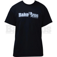 BAKEBROS T-SHIRT BLACK XXL