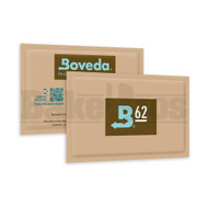 BOVEDA 2 - WAY HUMIDITY CONTROL Pack of 1 62 % RH 60G