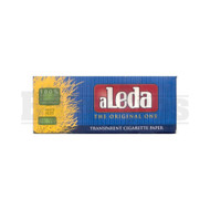 ALEDA THE ORIGINAL ONE TRANSPARENT PAPERS EXTRA SLIM BLUE SIZE UNFLAVORED Pack of 1