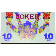 JOKER CIGARETTE PAPERS 1.0 SIZE 76 LEAVES UNFLAVORED Pack of 1