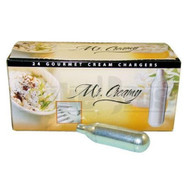 MR CREAMY CREAM CHARGERS GOURMET ASSORTED Pack of 24 8 GRAM